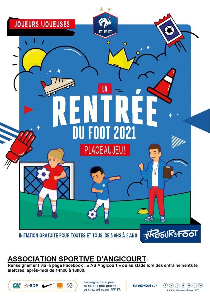 Lire la suite de l'actualité Rentrée du foot 2021
