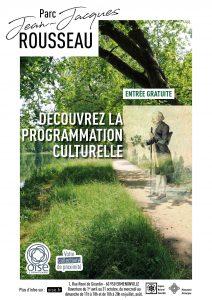 Parc Jean-Jacques ROUSSEAU Découvrez la programmation culturelle Entrée gratuite